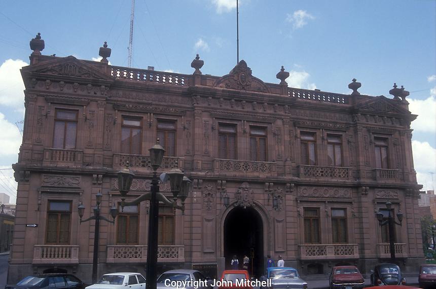 The Museo Nacional de la Mascara or National Museum of the <br /> Mask in San Luis Potosi, Mexico
