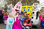 Enjoying the Meadowlands Tralee & Tralee Chamber Alliance Easter Kids Fancy Dress Fun Run at Tralee Town Park on Saturday were Emma Bailey, Lauren Brosnan, Sonny O'Brien and Sophia O'Brien
