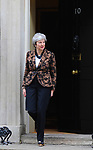 Prime Minister Theresa May at  10 Downing Street. 21.01.19