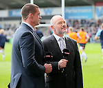 Former Welsh international Ieuan Cennydd Evans now a Sky sports presenter - European Rugby Champions Cup - Sale Sharks vs Munster -  AJ Bell Stadium - Salford- England - 18th October 2014  - Picture Simon Bellis/Sportimage