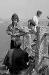 Beatles George Harrison and John Lennon during filming of Magical Mystery Tour..© Chris Walter..
