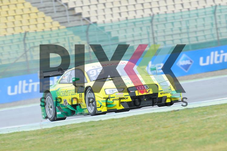 # 99 Mike Rockenfeller auf Audi RS5 DTM vom Audi Sport Team Phoenix  beim Training der DTM auf dem Hockenheimring.<br /> <br /> Foto &copy; P-I-X.org *** Foto ist honorarpflichtig! *** Auf Anfrage in hoeherer Qualitaet/Aufloesung. Belegexemplar erbeten. Veroeffentlichung ausschliesslich fuer journalistisch-publizistische Zwecke. For editorial use only.