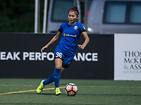 Seattle, WA - Saturday July 22, 2017: Nahomi Kawasumi during a regular season National Women's Soccer League (NWSL) match between the Seattle Reign FC and Sky Blue FC at Memorial Stadium.