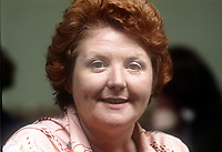 Monica Barnes, politician, Fine Gael, Rep of Ireland, May, 1978, 1978050171b<br />