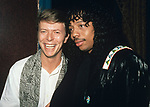 David Bowie & Rick James ©RTBusacca / MediaPunch