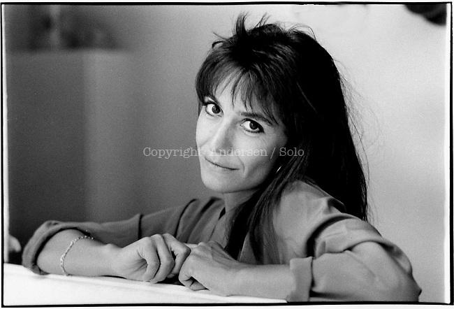 Marie Billetdoux In 1985<br /> Rapha&euml;lle Billetdoux