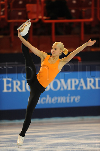 Kiira Korpi (FIN), November 15, 2009 - Figure Skating : ISU Grand Prix of Figure Skating 2009/2010 the Eric Trophy Bompard 2009, Practice at Palais Omnisports de Paris Bercy in Paris, France (Photo by Atsushi Tomura/Actionplus)