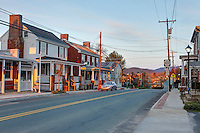 Main street in downtown Greene County, Virginia. Photo/Andrew Shurtleff