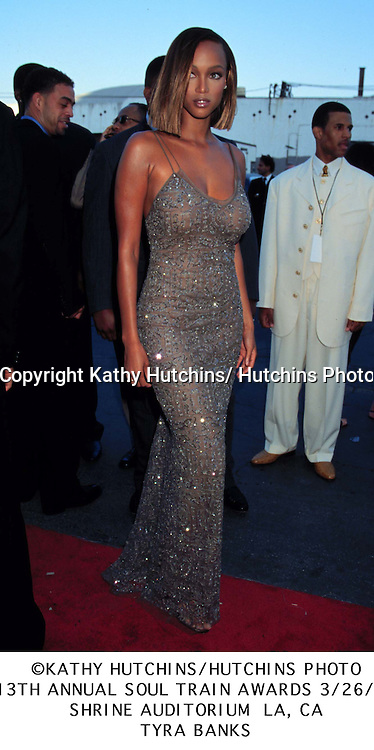 Tyra Banks..Archive..©1990-2005 Kathy Hutchins/ Hutchins Photo