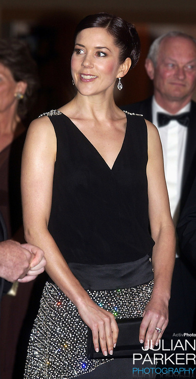 Crown Princess Mary of Denmark attends the Victor Chang Ball at the Sofitel Wentworth Hotel, Sydney, during a 2-week visit to Australia with Crown Prince Frederik..