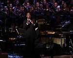 Quentin Earl Darrington during the Broadway Classics in Concert at Carnegie Hall on February 20, 2018 at Carnegie Hall in New York City.