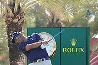 Pablo Larrazabal (ESP) on the 9th during Round 1 of the Abu Dhabi HSBC Championship 2020 at the Abu Dhabi Golf Club, Abu Dhabi, United Arab Emirates. 16/01/2020<br /> Picture: Golffile | Thos Caffrey<br /> <br /> <br /> All photo usage must carry mandatory copyright credit (© Golffile | Thos Caffrey