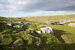 Carboniferous limestone scenery, Malham, Yorkshire Dales national park, England, UK