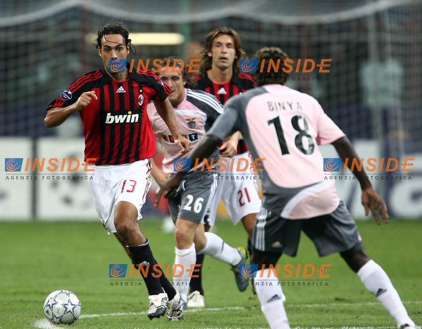 Milano 18/9/2007 Champions League <br /> Group D - Matchday 1 - Milan Benfica 2-0<br /> Alessandro Nesta Milan<br /> Foto Andrea Staccioli Insidefoto