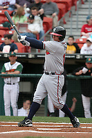 Richmond Braves Michael Ryan during an International League game at Dunn Tire Park on April 21, 2006 in Buffalo, New York.  (Mike Janes/Four Seam Images)