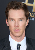 HOLLYWOOD, LOS ANGELES, CA, USA - NOVEMBER 14: Benedict Cumberbatch arrives at the 18th Annual Hollywood Film Awards held at the Hollywood Palladium on November 14, 2014 in Hollywood, Los Angeles, California, United States. (Photo by Xavier Collin/Celebrity Monitor)