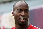 28 May 2010: DaMarcus Beasley. The United States Men's National Team held a practice session at Lincoln Financial Field in Philadelphia, Pennsylvania the day before playing Turkey in their final home friendly prior to the 2010 FIFA World Cup in South Africa.