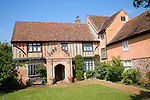 Newbourne Hall manor house, Newbourne, Suffolk