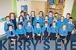 Pictured on their first day of school were the Junior Infants from Dromtrasna NS. F l-r: Jasmon Enright, Michael Moore, Aleisha Wrenn, Gearóid O'Sullivan, Katie O'Connor, Tadhg Riordan, Aoife Collins. M l-r: Aishling O'Connor, Aoife Horgan, Chloe Harnett, Conor Donovan, Lizzie Fitzgerald, Jessica Hastings, Ava Harnett, Codey Kelliher. B l-r: Bláithín McElligott, Edel O'Rourke, Emily McAuliffe, Shauna Riordan, Rhys Ward, Jack Nolan and Adam Collins.