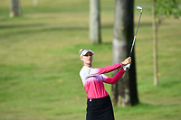 SINGAPORE - MARCH 02: Nelly Korda of USA walking-off the on the 1st fairway during the third round of the HSBC Women's World Championship 2019 at Sentosa Golf Club - Tanjong Course, Singapore on March 02, 2019.<br /> .<br /> .<br /> .<br /> (Photo by: Naratip Golf Srisupab/SEALs Sports Images)<br /> .<br /> Any image use must include a mandatory credit line adjacent to the content which should read: Naratip Golf Srisupab/SEALs Sports Images