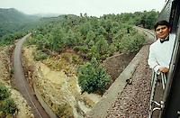 "South Orient Express passing the loop ""El Lazo"" (lasso)."