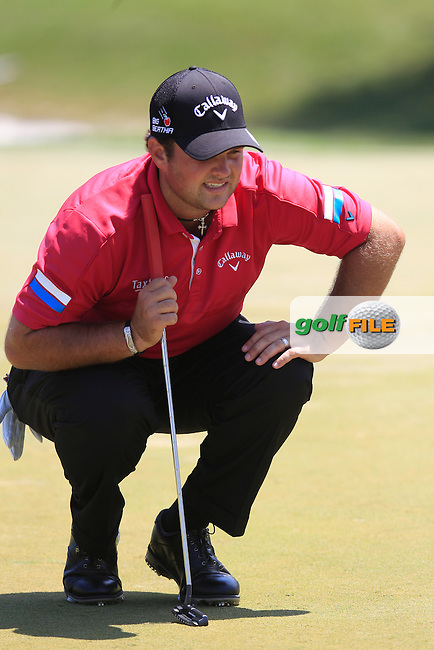 Patrick Reed (USA) during the final round of The Players, TPC Sawgrass, Ponte Vedra Beach, Florida, United States. 10/05/2015<br /> Picture Fran Caffrey, www.golffile.ie