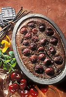 Gastronomie/Clafoutis aux cerises et à la réglisse