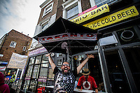 30.08.2015 - Behind The Bar (a Year after) - Notting Hill Carnival 2015 at 'Centonove'