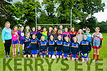 Under 12 Girls Enjoying the Ballymac Cul Camp on Monday
