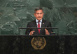 72 General Debate &ndash; 23rd of September  2017<br /> <br /> H.E. Vivian BALAKRISHNAN<br /> Minister for Foreign Affairs of<br /> SINGAPORE