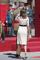MADRID, SPAIN-May 13: ***NO SPAIN*** Queen Letizia and King Felipe attend the 175 anniversary parade of La Guardia Civil at the Royal Palace in Madrid, Spain on the 13th of May of 2019 May13, 2019. <br /> CAP/MPI/RJO<br /> ©RJO/MPI/Capital Pictures