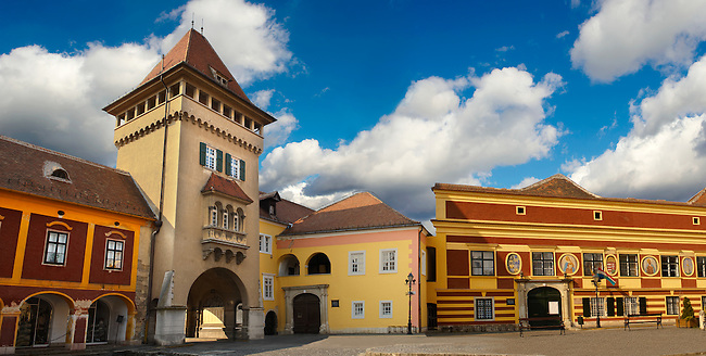 Old Town Square K?szeg Hungary