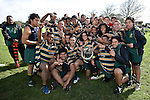 Counties Manukau Secondary School Plate final between Rosehill College First XV & Manurewa High School 2nd 's..Manurewa won 11 - 3.