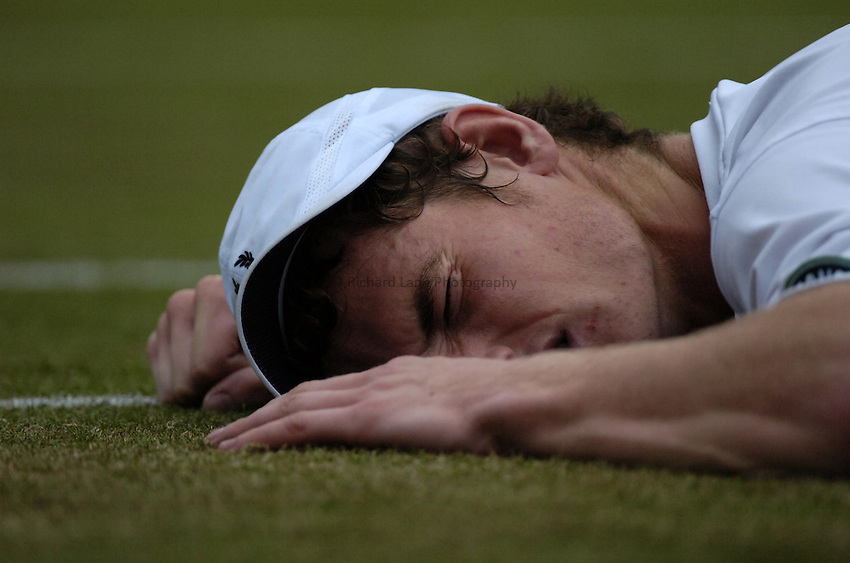 Photo. Jed Wee..Wimbledon Championships. 25/06/2005..Andy Murray.