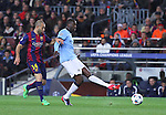 11.03.2015 Barcelona.UEFA champions League. Rounf 0f 16 2nd leg. Picture show Yaya Toure durring game between FC Barcelona against Manchester city at Camp Nou