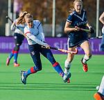 AMSTELVEEN - Famke Richardson (SCHC)   tijdens de competitie hoofdklasse hockeywedstrijd dames, Pinoke-SCHC (1-8) . COPYRIGHT KOEN SUYK