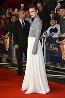 Keira Knightley<br /> Colette film screening at BFI London Film Festival<br /> In Leicester Square, London, England on October 11, 2018.<br /> CAP/PL<br /> &copy;Phil Loftus/Capital Pictures /MediaPunch ***NORTH AND SOUTH AMERICAS ONLY***