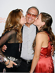 "HOLLYWOOD, CA. - September 15: Actress Lea Thompson (L), Director Howard Deutch and daughter Zoe Deutch arrive at the world premiere of ""My Best Friend's Girl"" at The Arclight Hollywood on September 15, 2008 in Hollywood, California."