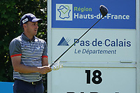 Chris Hanson (ENG) during the final round of the Hauts de France-Pas de Calais Golf Open, Aa Saint-Omer GC, Saint- Omer, France. 16/06/2019<br /> Picture: Golffile | Phil Inglis<br /> <br /> <br /> All photo usage must carry mandatory copyright credit (© Golffile | Phil Inglis)