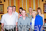 25th Birthday: John Geoghegan, Athea celebrating his 25th birthday with family at Casa Mia's Restaurant, Listowel on Saturday night last. Front, Leo, John & Eilish Geoghegan, Back : Francis Ahern, Karen Greaney, Louise Ahern & Leah Geoghegan.