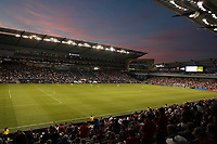KANSAS CITY, KANSAS - JUNE 26: Overall view Children's Mercy Park during a 2019 CONCACAF Gold Cup group D match between the United States and Panama at Children's Mercy Park on June 26, 2019 in Kansas City, Kansas.