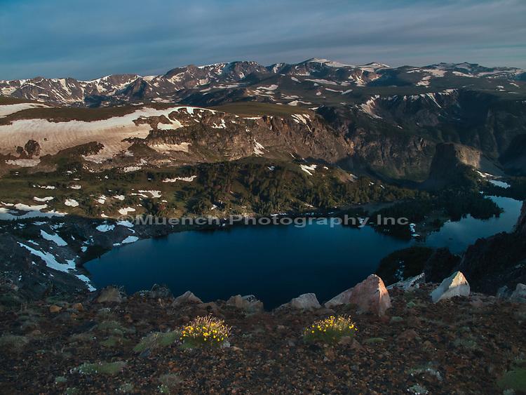 Beartooth Mountain Range,Montana