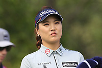 So Yeon Ryu (KOR) on the 5th tee during Friday's Round 2 of The Evian Championship 2018, held at the Evian Resort Golf Club, Evian-les-Bains, France. 14th September 2018.<br /> Picture: Eoin Clarke | Golffile<br /> <br /> <br /> All photos usage must carry mandatory copyright credit (&copy; Golffile | Eoin Clarke)