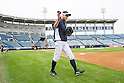 Ichiro Suzuki (Yankees),<br /> FEBRUARY 21, 2014 - MLB :<br /> New York Yankees spring training baseball camp at George M. Steinbrenner Field in Tampa, Florida, United States. (Photo by Thomas Anderson/AFLO) (JAPANESE NEWSPAPER OUT)