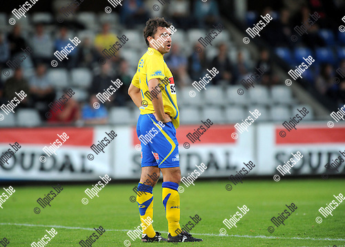 2012-08-25 / Voetbal / seizoen 2012-2013 / KVC Westerlo / Stijn Minne..Foto: Mpics.be