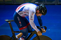 Picture by Alex Whitehead/SWpix.com - 11/10/2017 - British Cycling - Great Britain Cycling Team Sprint Practice Session - HSBC UK National Cycling Centre, Manchester, England - Callum Skinner.