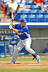15 March 2008: Los Angeles Dodgers' catcher Russell Martin at bat during a Spring Training game against the Washington Nationals at Space Coast Stadium, in Viera, Florida...Mandatory Photo Credit: Ed Wolfstein Photo