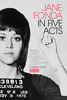 Jane Fonda in Five Acts (2018) <br /> POSTER ART<br /> *Filmstill - Editorial Use Only*<br /> CAP/MFS<br /> Image supplied by Capital Pictures