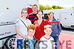 Kilgarvan group of Jack, Aoife, Julie and Kieran O'Neill with Katie Harrington and Alfie Power, enjoying the Rally of the Lakes last Weekend, in Killarney.