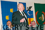 FCA/PDF/RDF Reunion : John O'Mahony, Castlemaine addressing  the members of the FCA/PDF/RDF 15th & 32nd Batalions  at their reunion at the Listowel Arms Hotel on Saturday night last.